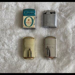Old antique camel lighters